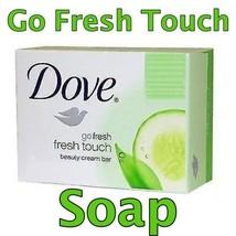 DOVE MOISTURIZING BEAUTY CREAM SOAP BAR Go Fresh Touch - $5.44