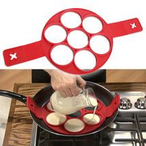 Nonstick Pancake Cooking Tool Egg Ring Maker Cheese Egg Cooker Pan Flip ... - $36.18 CAD