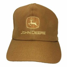 Vintage John Deere Logo Snapback Hat K-Products Made In USA Farmer Hunting - $44.06