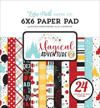 "Magical Adventure 2.  6X6"" Paper Pad.  Echo Park."