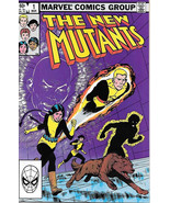 Marvel Comics The New Mutants Comic Book #1 1983 FINE+ - $18.29