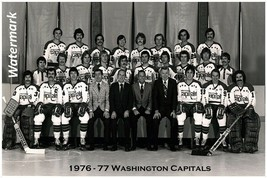 NHL 1976 - 77 Washington Capitals Team Picture 8 X 12 Photo Free Shipping - $10.99