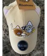 Rilakkuma Dad Hat with Ears Adjustable Ofsm Bio World Cap - $24.74