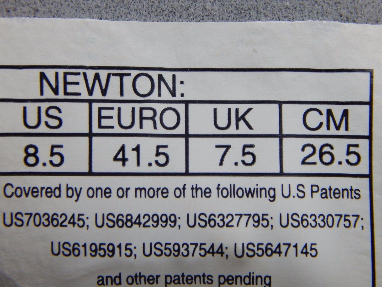 Newton Gravity IV Men's Running Shoes Size US 8.5 M (D) EU 41.5 Blue Silver