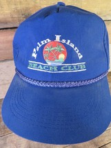 Palm Island Beach Club Vintage Adjustable Adult Hat Cap - $22.27