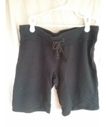 """Junior's No Boundaries Black Shorts Size M (7/8) """"Clearly The Best"""" Print - $0.99"""