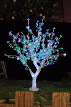 5ft/1.5M  White Led Crystal Cherry Blossom Tree Light Custom-made tree style pic - $399.00
