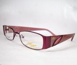 Apple Bottoms 744 Plum 2 Woman Eyeglasses Metal plastic optical - $59.39