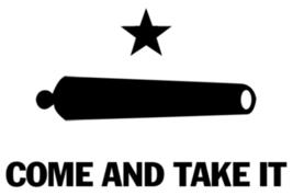 TX Revolution Flag Sticker - $9.89