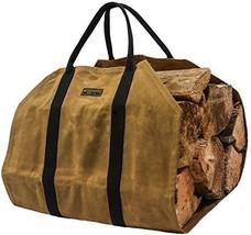 Readywares Waxed Canvas Firewood Log Carrier - $40.73