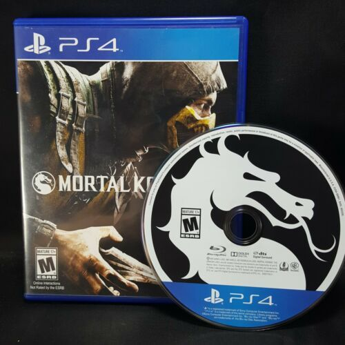 Mortal Kombat X 10 MK -  PS4 Sony Playstation 4  GAME Tested