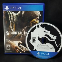 Mortal Kombat X 10 MK -  PS4 Sony Playstation 4  GAME Tested  image 1