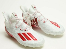 Adidas Adizero Young King White Red Football Cleats Shoe US Size 11 Men FU6708 - $66.32