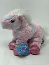 """Webkinz Tie Dye Pink Pony with Sealed Code HM117 Plush Stuffed Animal 8"""" Toy - $11.88"""