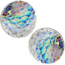 Mermaid Earrings: Mermaid Gifts for Women Dragon Egg Girl Stud Earrings ... - $19.43