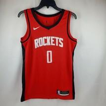 Nike Men NBA Rockets Westbrook Red Authentic Swingman Jersey CW3666 657 ... - $89.95