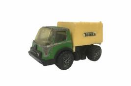 "Vtg. Tonka Toy Green Garbage Truck Steel & Plastic 3 3/8"" Hong Kong - $4.95"