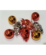 Halloween MINI Skull GLASS Ornaments Decorations Set of 8 - $9.99