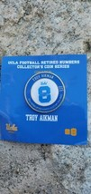 2019 UCLA BRUINS RETIRED NUMBERS COLLECTORS COIN TROY AIKMAN COWBOYS LE ... - $19.99