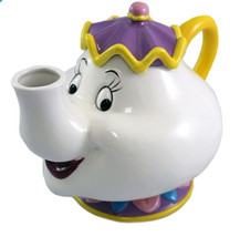 Walt Disney's Beauty and the Beast Mrs. Potts 48 oz Ceramic Teapot UNUSED BOXED - $58.04