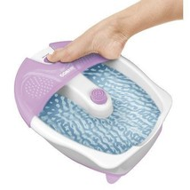 Vibrating Foot Heat Spa Massage Pedicure Care Relaxation Toe Touch Contr... - $37.95