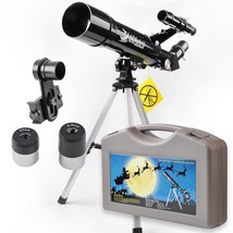 NEW! Telescope Monocular Scope With Tripod Beginners and Kids US - $118.78