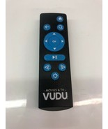 VUDU Remote Control RS-T1 Sold as not tested for Parts and repair - $12.19
