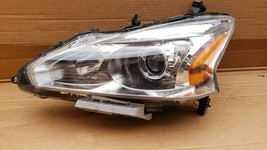 13-15 Nissan Altima Sedan Halogen Headlight Lamp Driver Left LH image 1