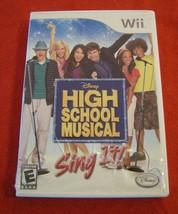 High School Musical: Sing It (Nintendo Wii, 2007) - $4.94