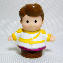 Fisher Price Little People PRINCE CHARMING Disney Princess Songs Palace ... - $3.00