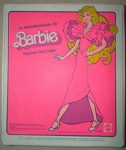 Vintage 1980 Mattel Barbie Fashion Doll Case Pink Color Torn Cardboard I... - $9.98