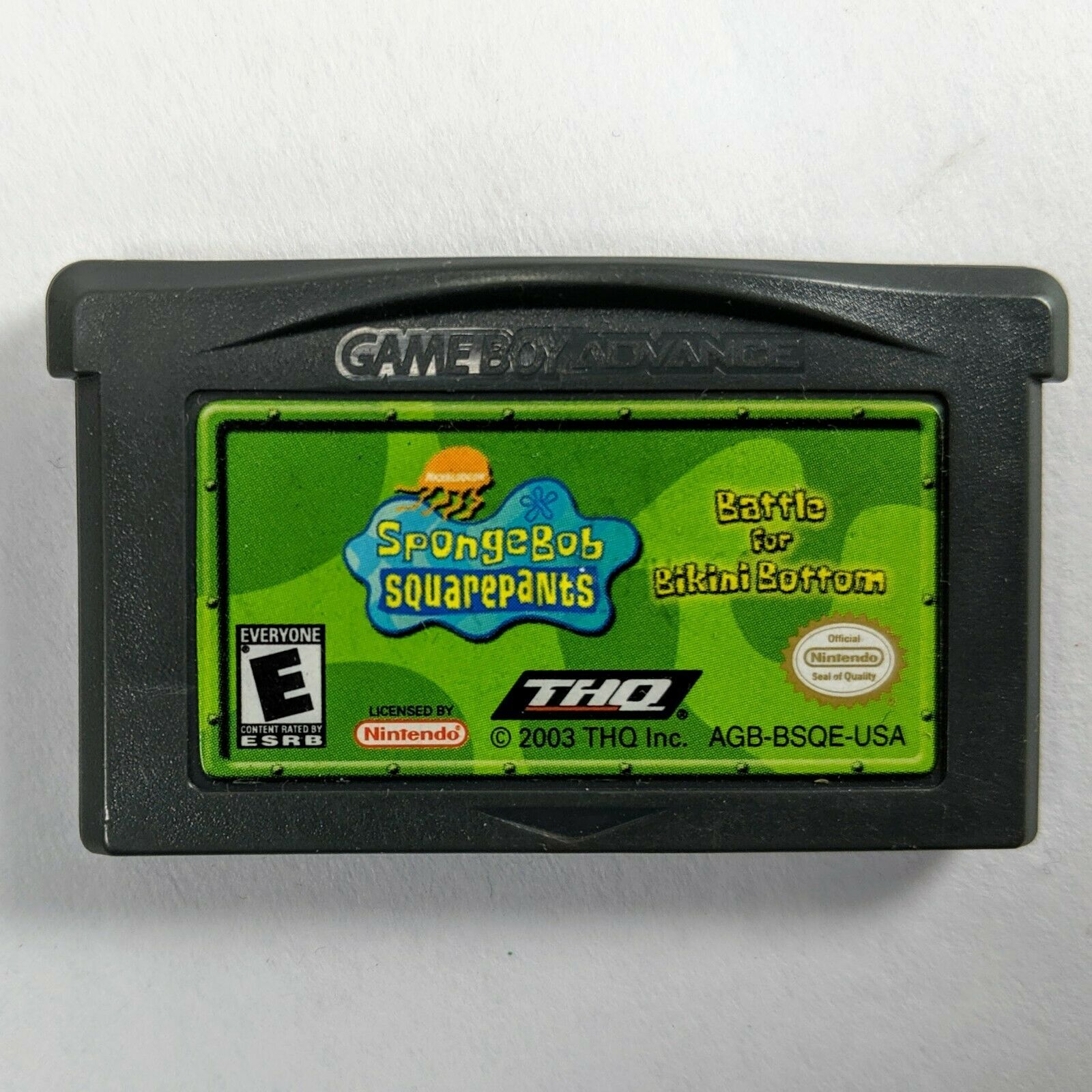 SpongeBob SquarePants: Battle for Bikini Bottom for Nintendo Game Boy Advance