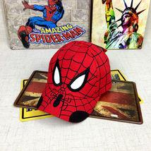 Kid Toddler Children Boy Girl Spiderman Peaked Snapback Hat Baseball Cap Hip-Hop image 5