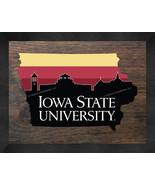 Iowa State Cyclones 13 x 16 Uscape with Retro Skyline Framed Print  - $39.95