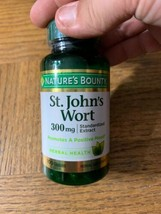 Nature's Bounty St. John's Wort 309 MG 100 Capsules - $12.75