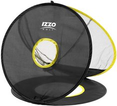 """Izzo Golf Triple Chip Chipping Net - 20"""" Diameter with 3 Rotating Targets - $29.99"""