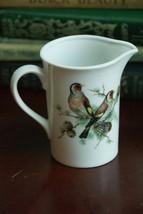 "Mottahedeh 4"" H Cream Pitcher Birds Porcelain Pine Cones - $19.99"