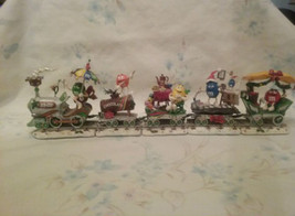 The M&M's Holiday Express By The Danbury Mint - $125.00