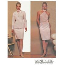Designer JACKET SKIRT TOP | Anne Klein | Szs 18-22 | VOGUE UNCUT Sewing ... - $9.85