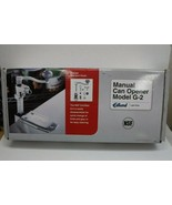 Edlund G-2 Manual Can Opener with Standard Length Bar and Plated Base New - $157.41