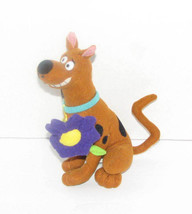 """Scooby Doo With Purple Flower Plush Toy 7"""" - $8.98"""