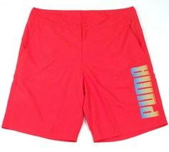 Puma Signature Red Boardshorts Swim Trunks Men's NWT - $41.24