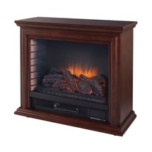 Pleasant Hearth Sheridan Mobile Infrared Fireplace - Cherry Red New - $234.31
