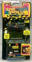 SUPER BREAKOUT ATARI MGA HANDHELD LCD MINI CABINET GAME 2005 NEW OLD STOCK - $19.79