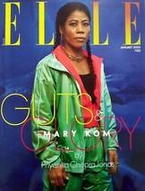 Elle India January 2020 Mary Kom Ayushman Khurana Travel Beauty - $11.99