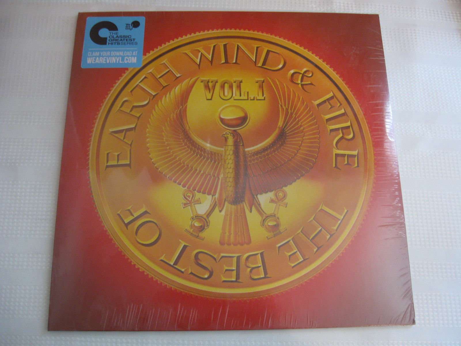 The Best Of Earth Wind & Fire Vol 1 Sony Columbia Stereo Vinyl Record LP SEALED
