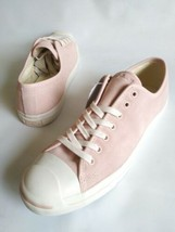 New CONVERSE JACK PURCELL OX Low Top Sneakers Pink Nubuck Mens SZ 13 Wom... - $50.45