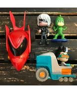 PJ Masks Gekko Romeo Luna Girl Action Figure Vehicle Car Kids Play Toy M... - $22.76