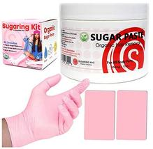 Sugaring Hair Removal Waxing Kit - Organic Sugaring Paste for Brazilian, Legs, A image 2