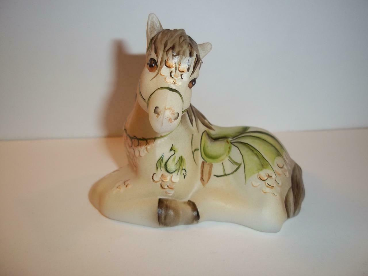Fenton Glass Dragon Carousel Horse Pony Figurine FGS Excl Ltd Ed #6/12 M. Kibbe